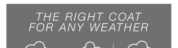 The right coat for any weather (NOTE - for this one, just slice straight across. The entire image is going to the same link)