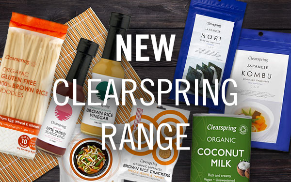 New Clearspring Range