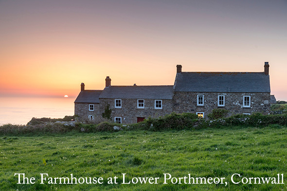 The Farmhouse in Lower Porthmeor, Cornwall