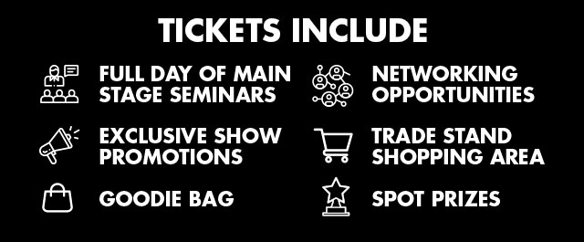 Groom Pro Expo 2020 Tickets Include