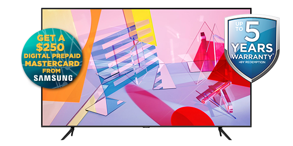 SAMSUNG 75-INCH 4K UHD SMART QLED TELEVISION