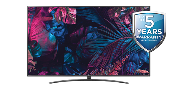 LG 75-INCH 4K THINQ SMART TELEVISION