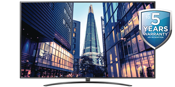 LG 86-INCH 4K THINQ SMART TELEVISION