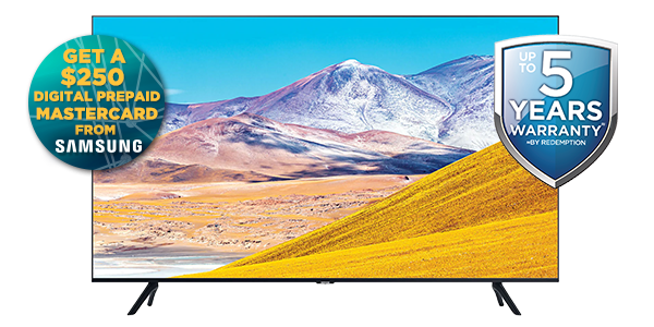 SAMSUNG 75-INCH 4K UHD SMART LED LCD TELEVISION