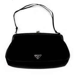 Prada Black Clutch Bag