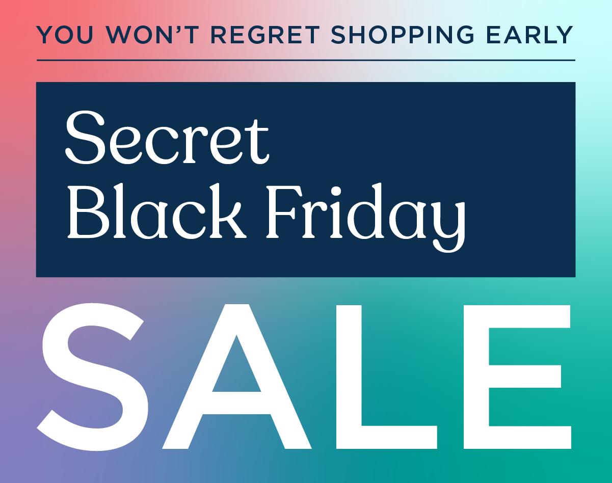 Secret Black Friday Sale