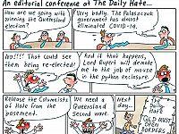 CARTOONS: Mark David''s media mantra