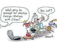 CARTOONS: Trouble in China?