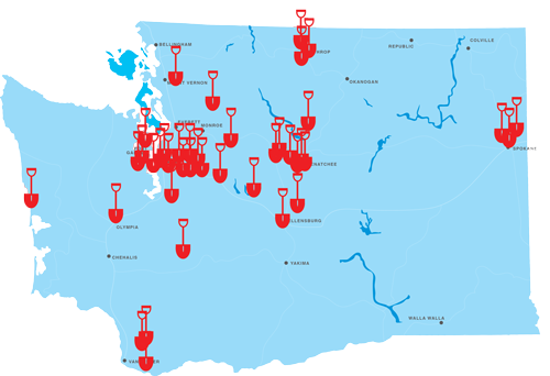 2020 Projects Map