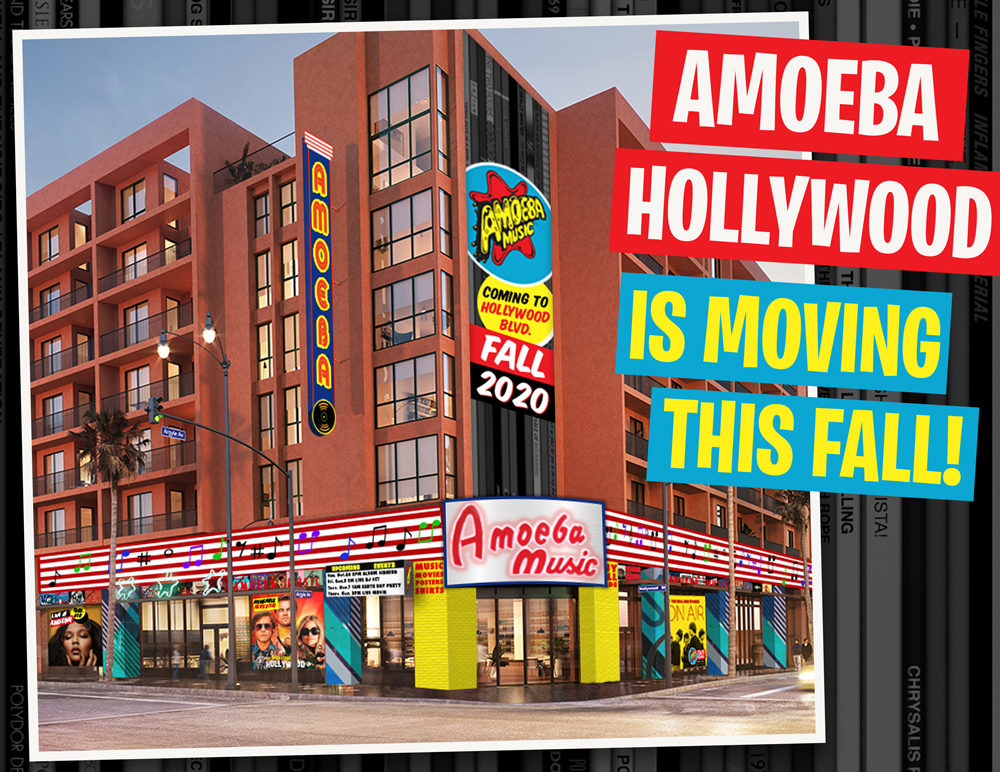 Amoeba Hollywood Is Moving This Fall!