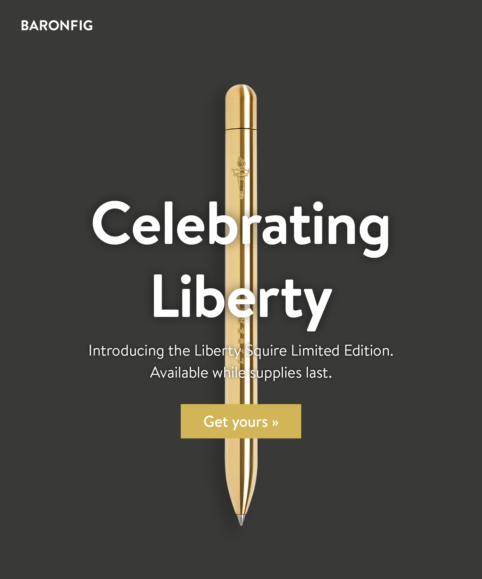 Introducing the Liberty Squire Limited Edition. Get yours ?