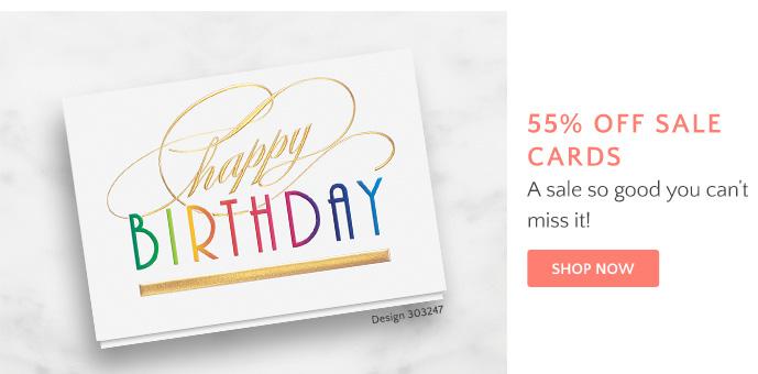 55% Sale