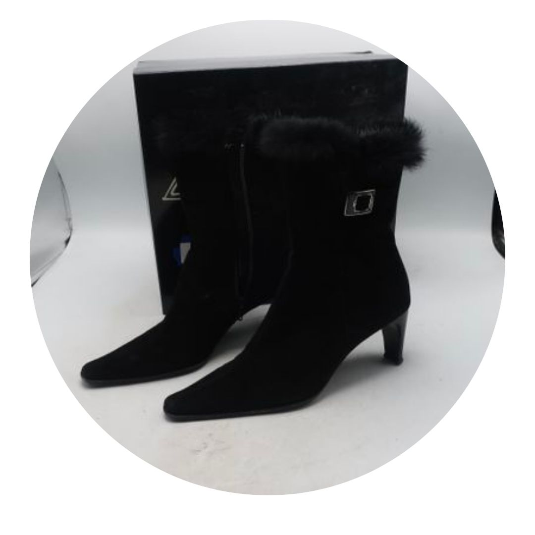 Aquatalia Boots Suede Ankle Boots