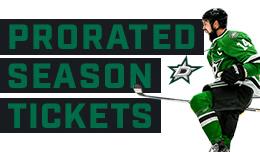 Prorates Season Tickets