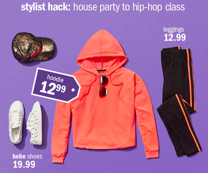 stylist hack: house party to hip-hop class
