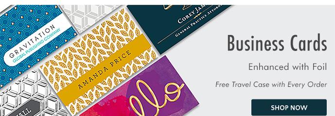 Shop Enhanced Business Cards
