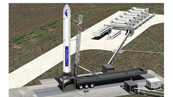 An artist rendering of what Rocket Crafters' Intre