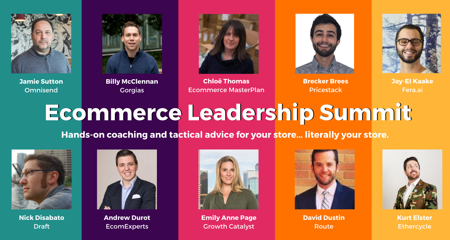 NEW Ecommerce Leadership Summit