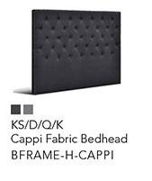Artiss Cappi Fabric Bedhead