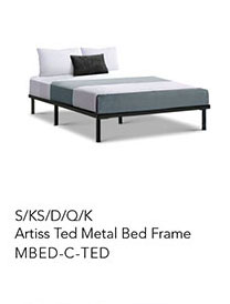 Artiss Ted Metal Bed Frame