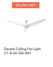 Devanti Ceiling Fan Light