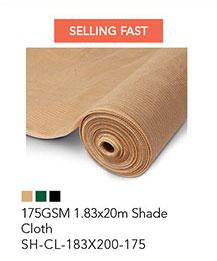 175GSM 1.83x20m Shade Cloth
