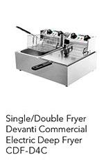 Devanti Commercial Electric Deep Fryer