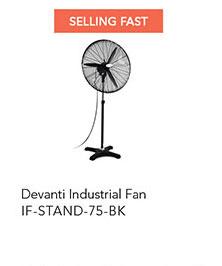 Devanti Industrial Pedestal Fan