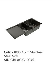 Cefito 100 x 45cm Stainless Steel Sink