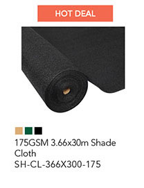 175GSM 3.66x30m Shade Cloth