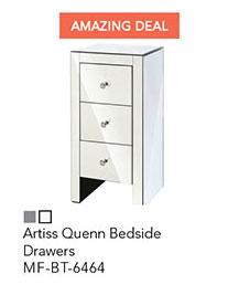 Artiss Quenn Bedside Drawers