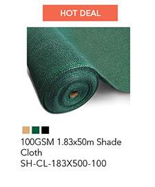 100GSM 1.83x50m Shade Cloth