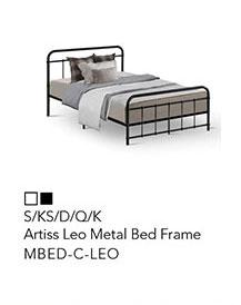 Artiss Leo Metal Bed Frame