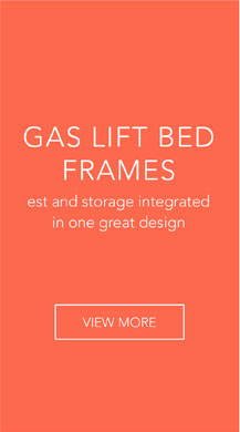 Gas-Lift Bed Frame