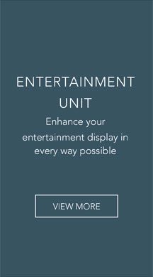 Enhance your entertainment display in every way possible