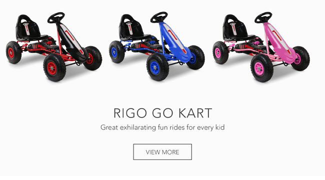 Great exhilarating fun rides for every kid