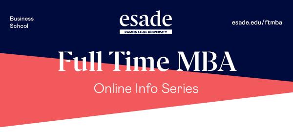 FTMBA - Online InfoSeries