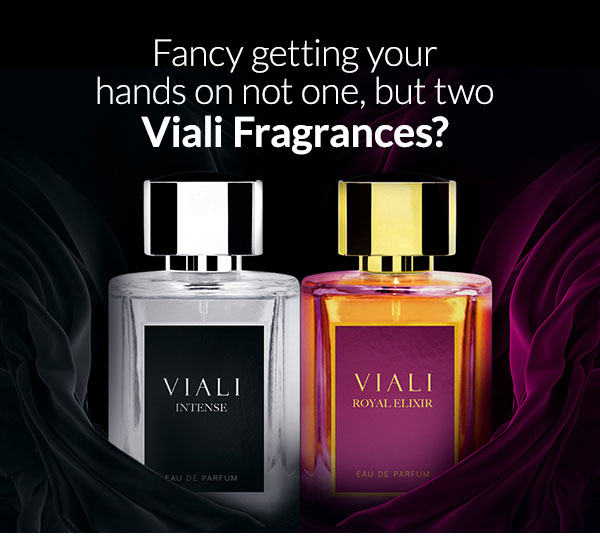 Fancy getting your hands on not one, but two Viali Fragrances?