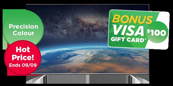 HISENSE 65-INCH 4K ULTRA HD SMART LED TELEVISION