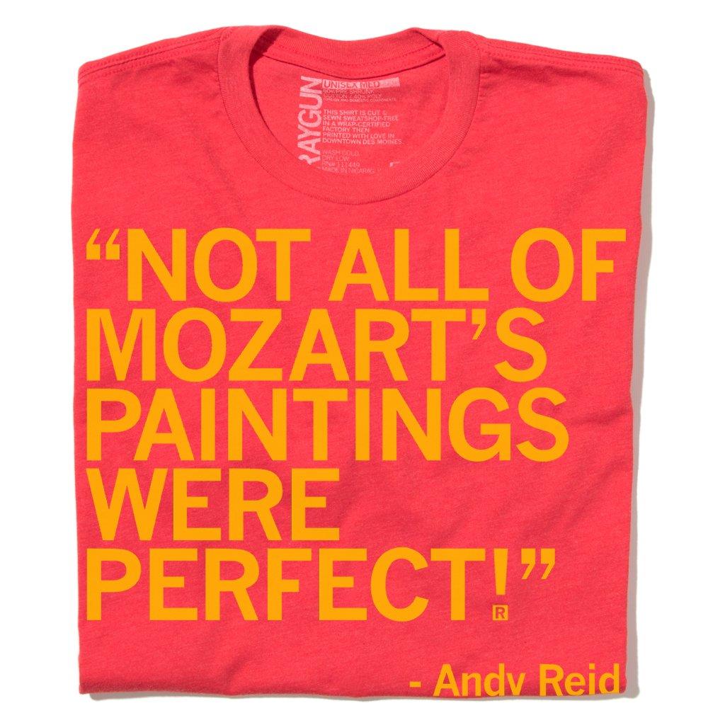 Andy Reid Mozart Paintings