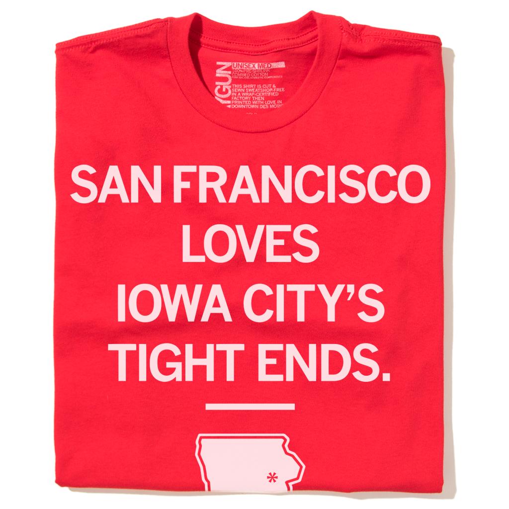 San Francisco Loves Iowa City Tight Ends