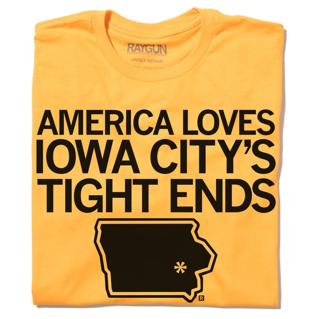 America Loves Iowa City Tight Ends