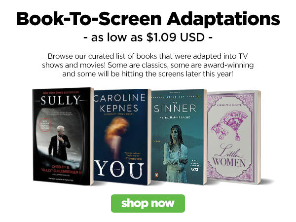 Shop our book-to-screen adaptations list!