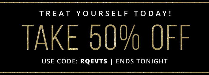 Take 50% Off with coupon code: RQEVTS