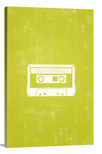 Cassette Tape silhouette by Kate Lillyson