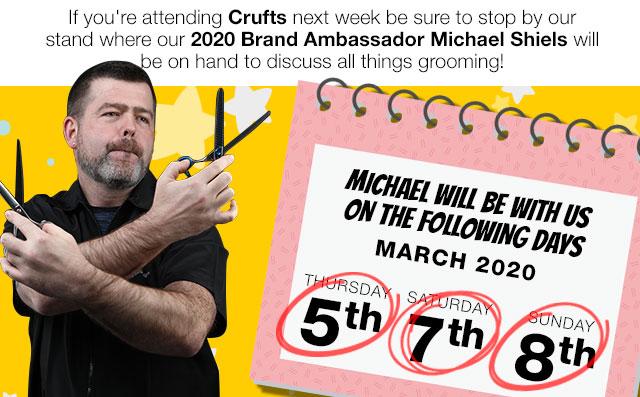Michael Shiels at Crufts