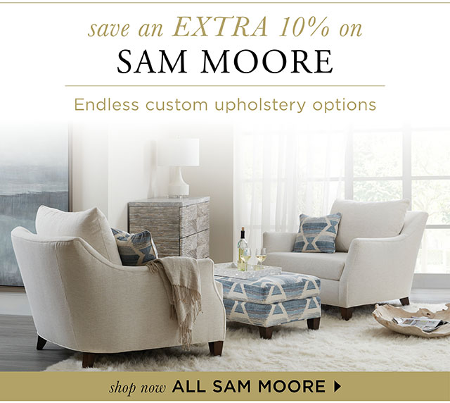 Sam Moore - Save an Extra 10% OFF