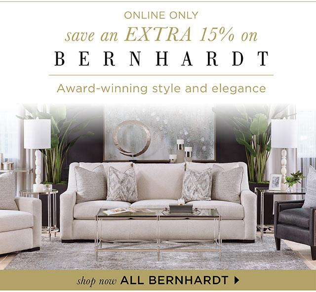 Bernhardt - Save an Extra 15% OFF!