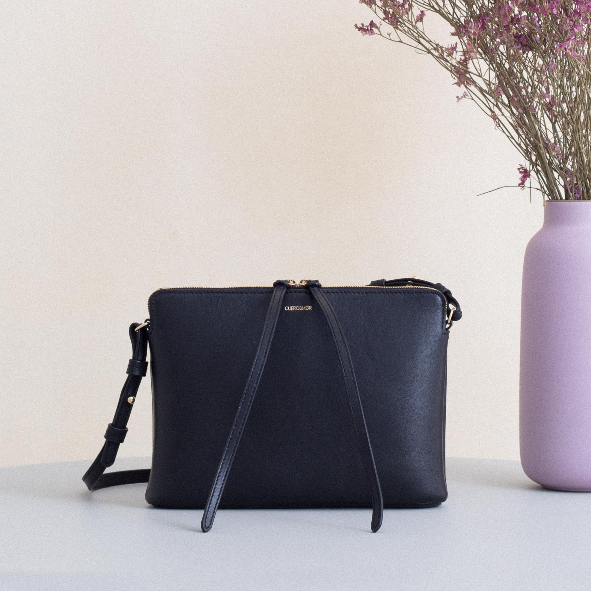 Top Zipper Bag - Black (ONLY 1)