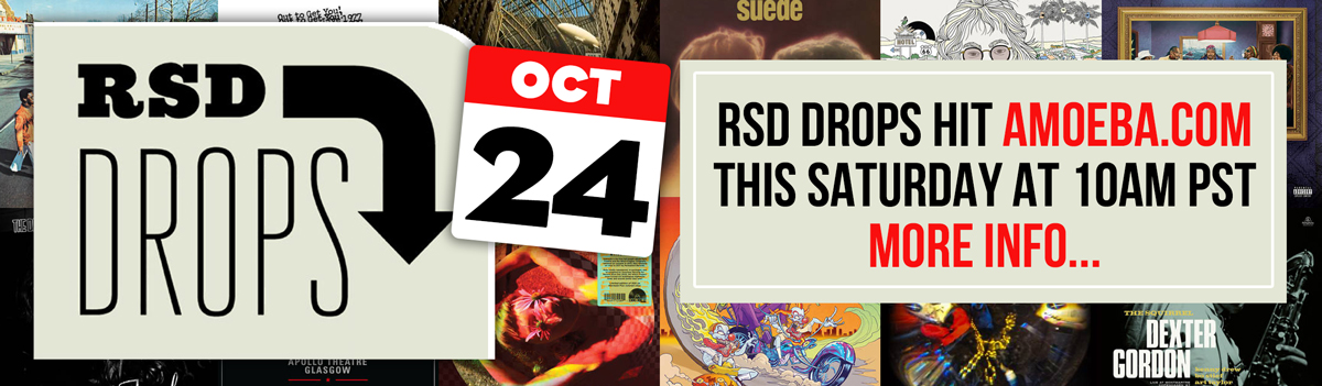 Record Store Day Drops Oct 24